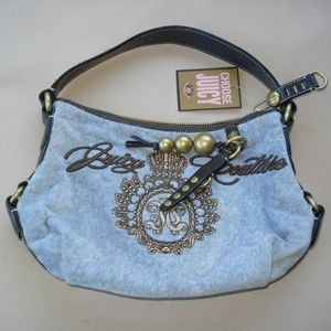 Juicy Couture NWT...Gray flannel Purse